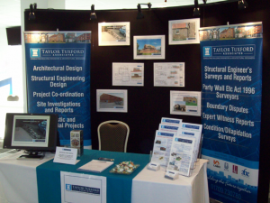 Taylor Tuxford Exhibition Stand